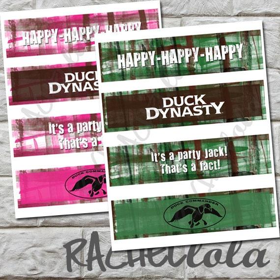 Printable Duck Dynasty
