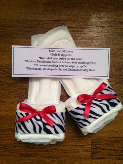 Zebra Print Bedroom Shoes