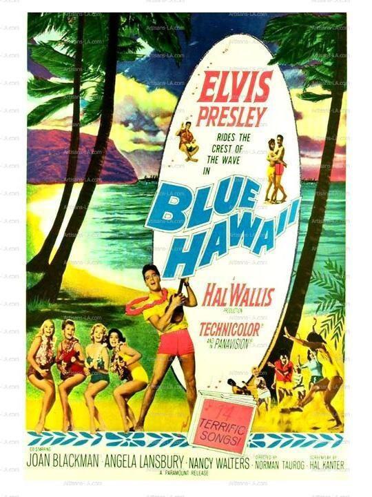 Hawaii Elvis Presley 1961 Movie Poster Print Download Classic Movie ...