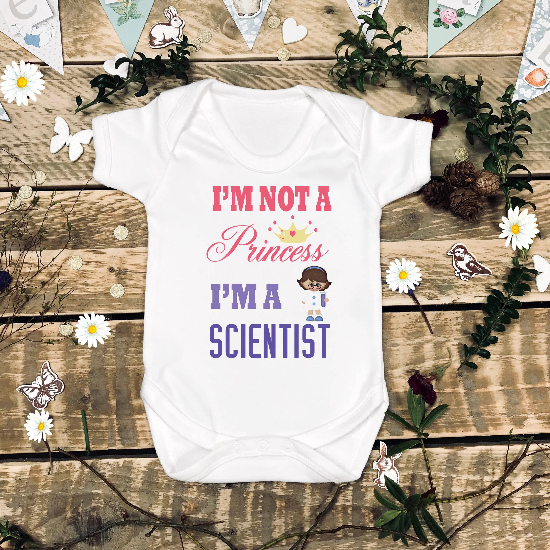 Future Scientist Girl Scientist Mini Scientist Girl Power Baby Shower Gift Grandbaby Gift Science Girl Im Not a Princess Im a Scientist