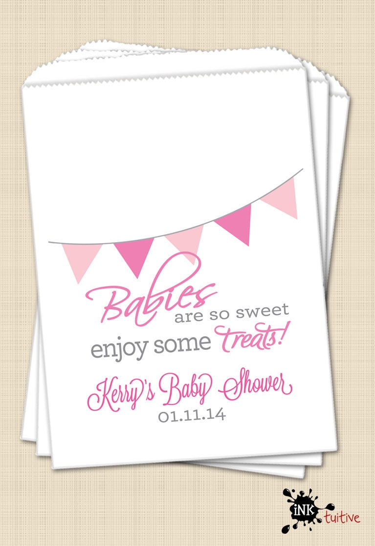 bags baby shower favor bags candy buffet candy bags treat bags