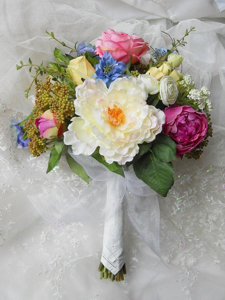 ON SALE Wildflower Bridal Bouquet Wedding By ArtHouseBridal