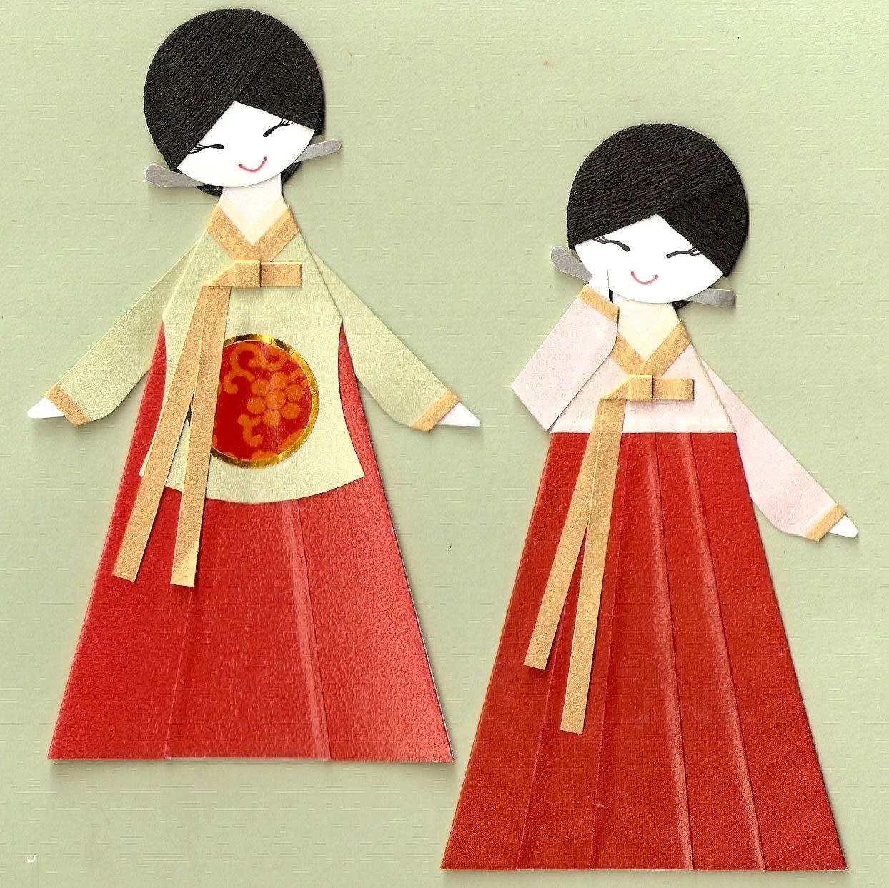 Кукла японка в национальном костюме своими руками