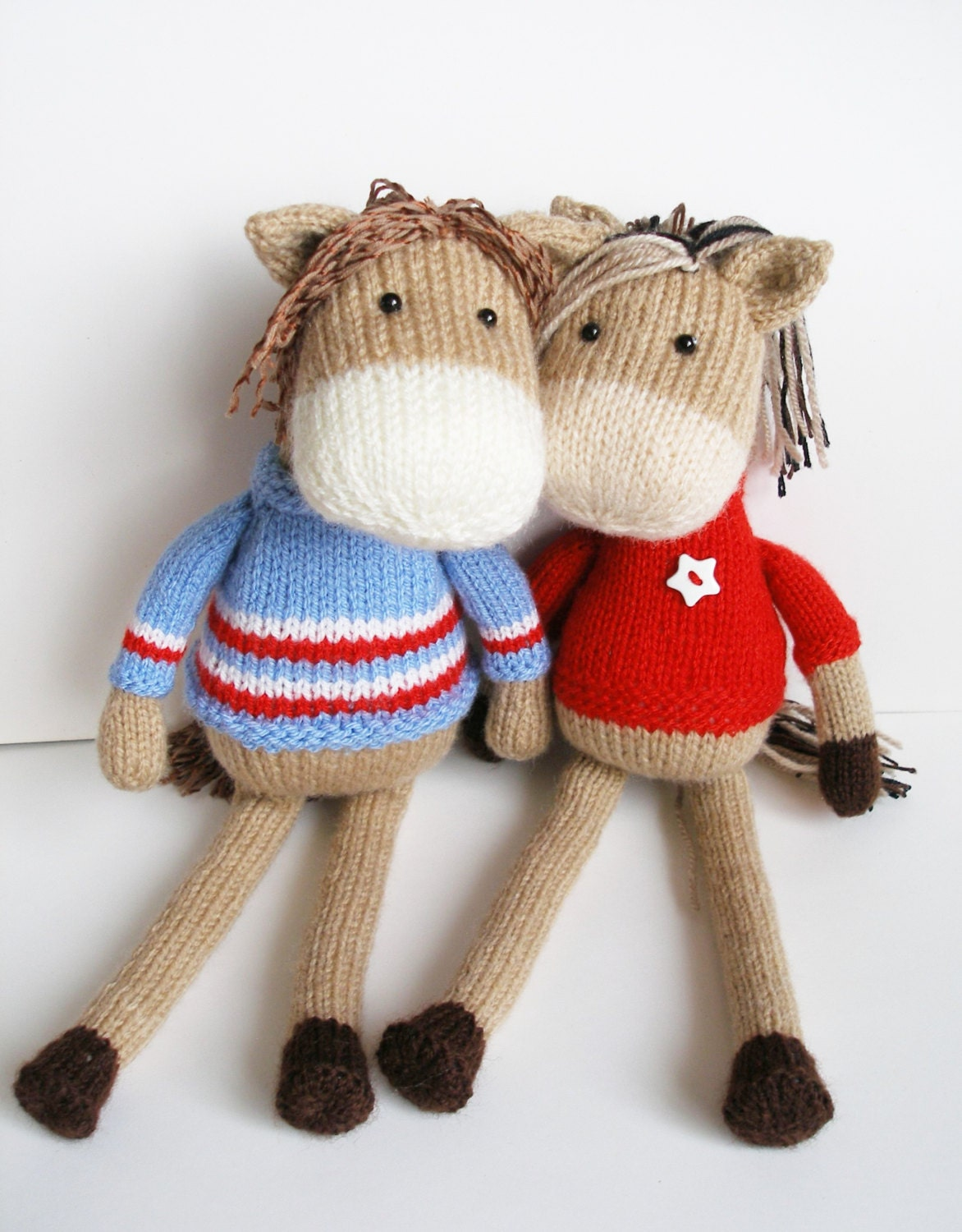 Knitting Pattern Toy Horse : Unavailable Listing on Etsy