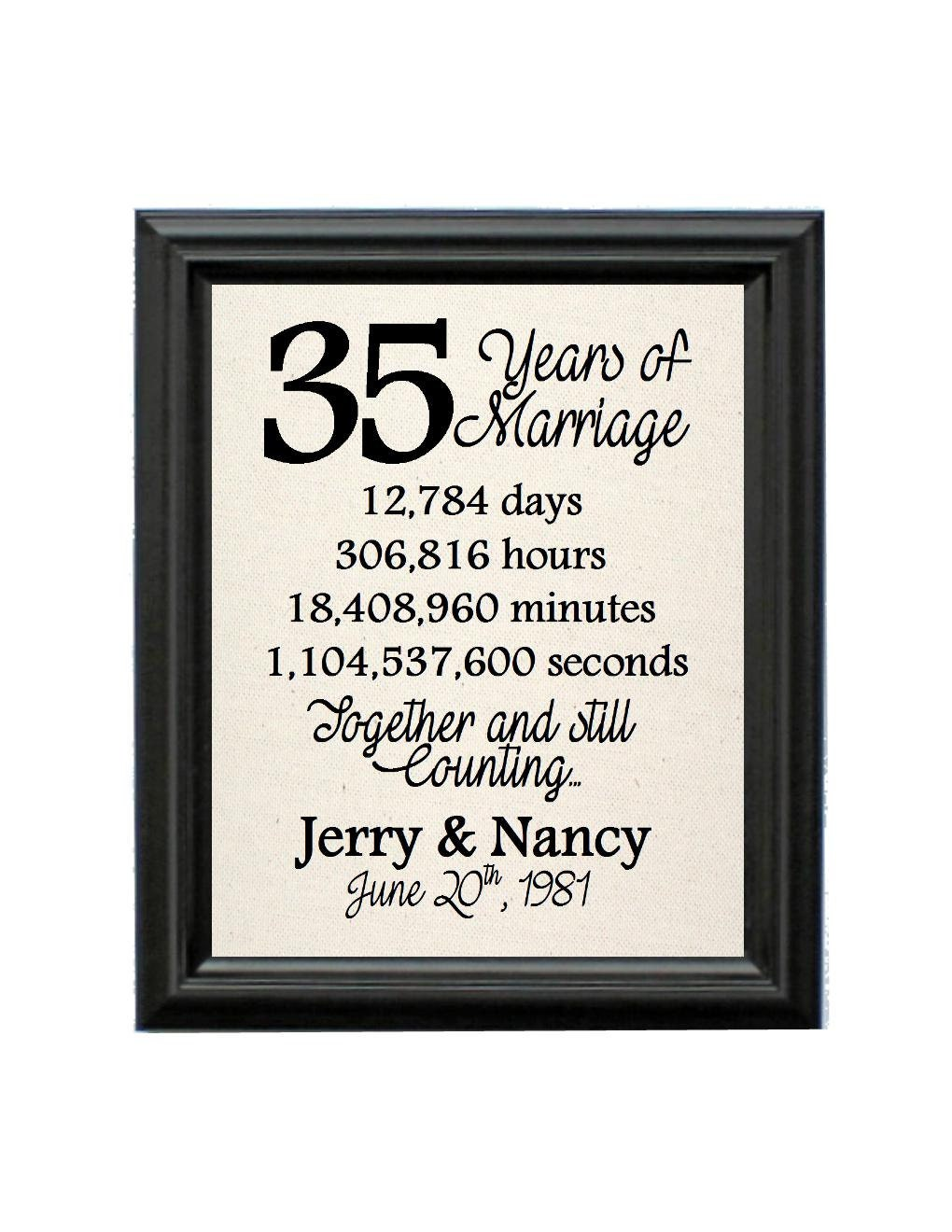 35th Anniversary Gift Ideas For Her
