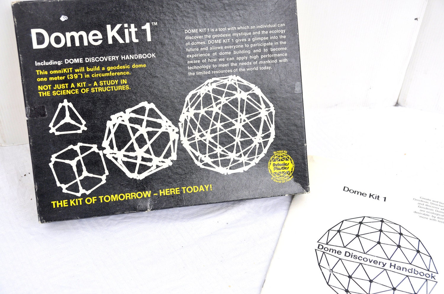 Geodesic Dome Kit 1970s Construction Toy By Virtuallyantique