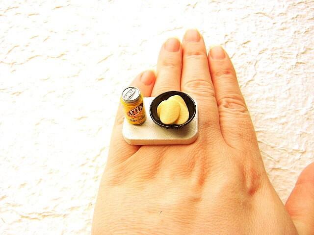 Food Ring Cream Soda Potato Chips Snack