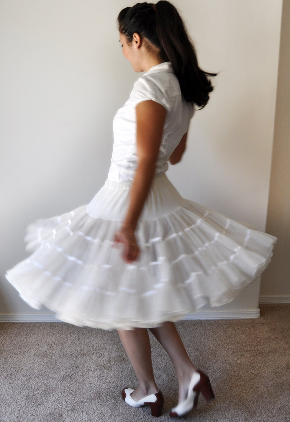 CHRISTMAS SALE Vintage petticoat skirt Cream by  : ilfullxfull344116761 from www.etsy.com size 983 x 1428 jpeg 201kB