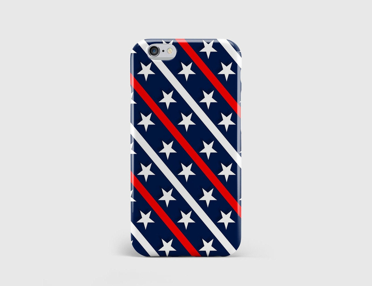 Independence Day iPhone Case Stars and Stripes American United States Homeland Phone Case Cover iPhone 7 iPhone 6 iPhone 5  hcpp164