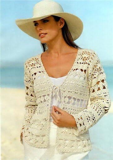Free Crochet Patterns Summer Sweaters : Pattern only a crochet spring/summer/fall cardigan by AsDidy