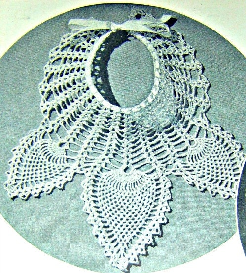 Crochet Pineapple Collar Pattern From 1940's Direct Checkout Black Friday Etsy - Lusmysticjewels