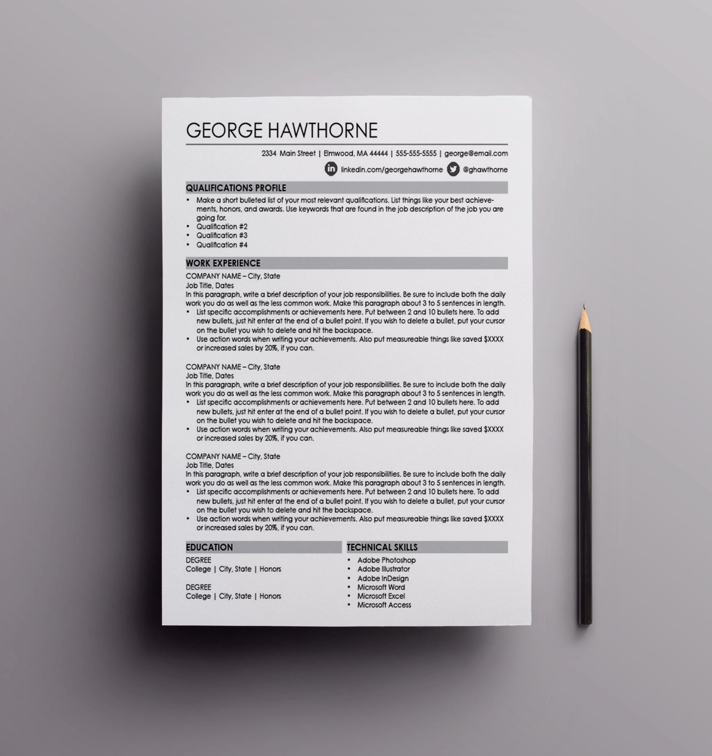 mac resume templates .