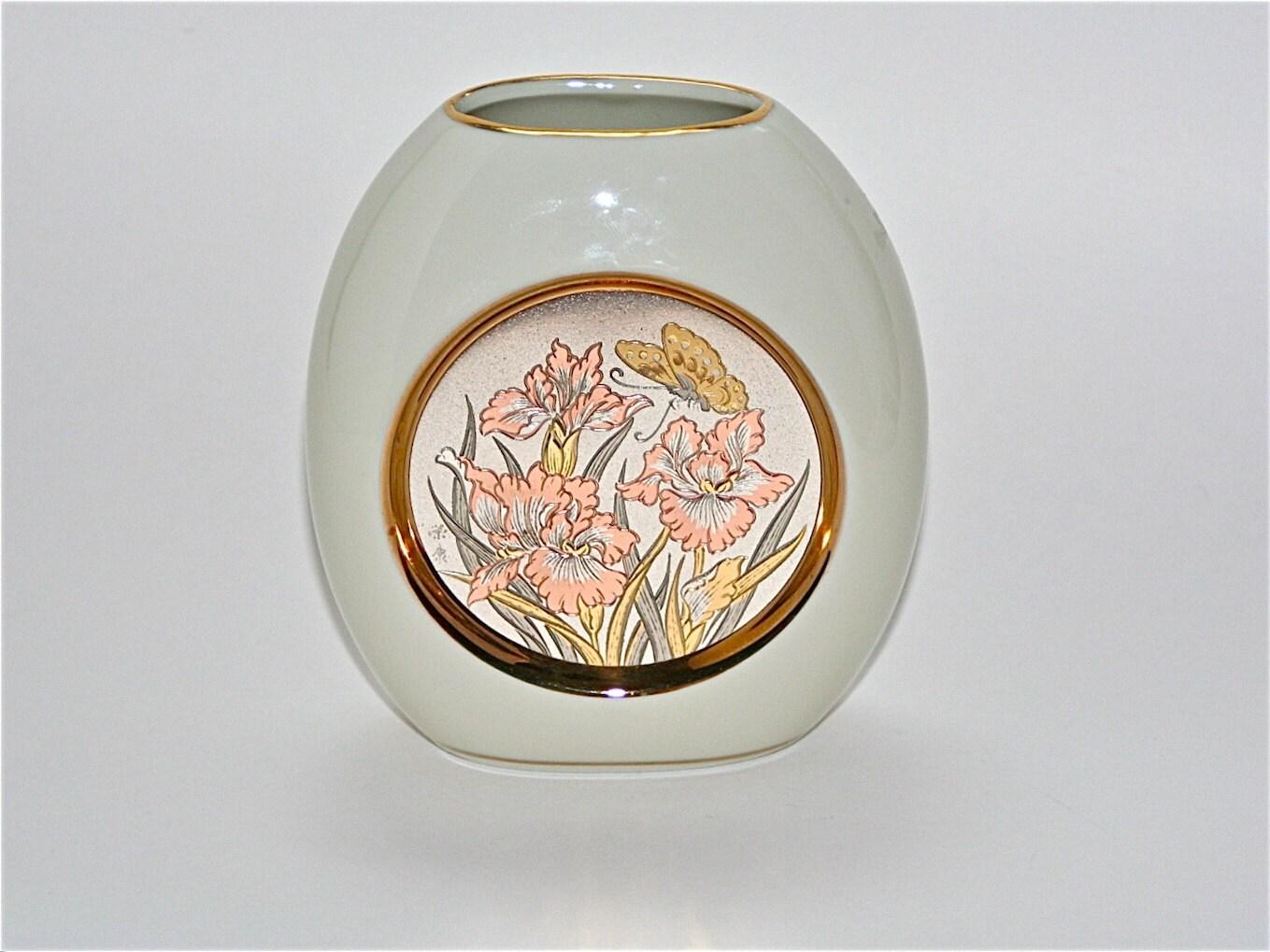 Items Similar To Vintage Chokin Vase Chokin 24K Gold
