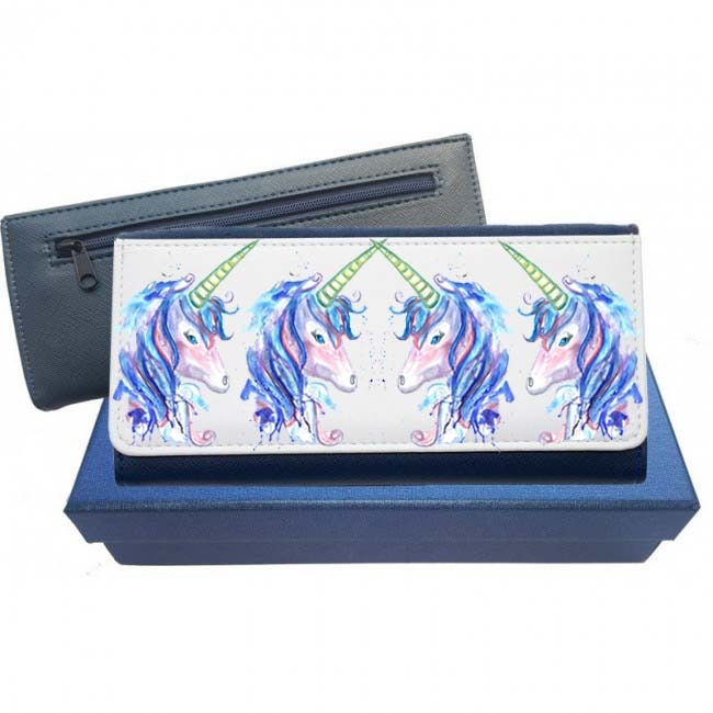 Unicorn purse unicorn coin purse unicorn gift unicorn sparkle unicorn lover purse leather purse pink purse navy purse