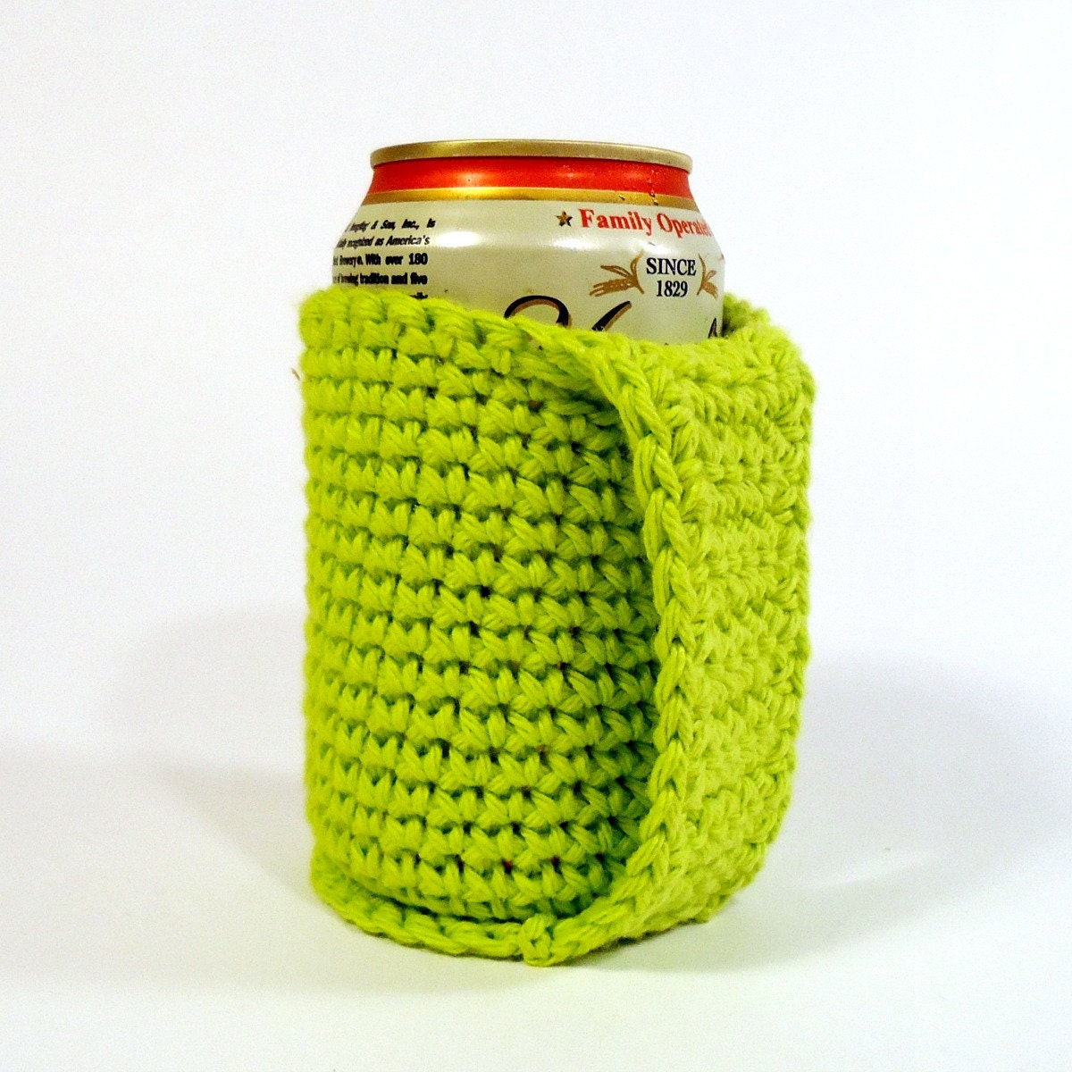 Crochet Patterns For Koozies : Items similar to Beer Coozie Drink Koozie Cozy Crochet ...