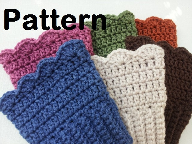 Beginner Crochet Boot Cuff Pattern : Unavailable Listing on Etsy