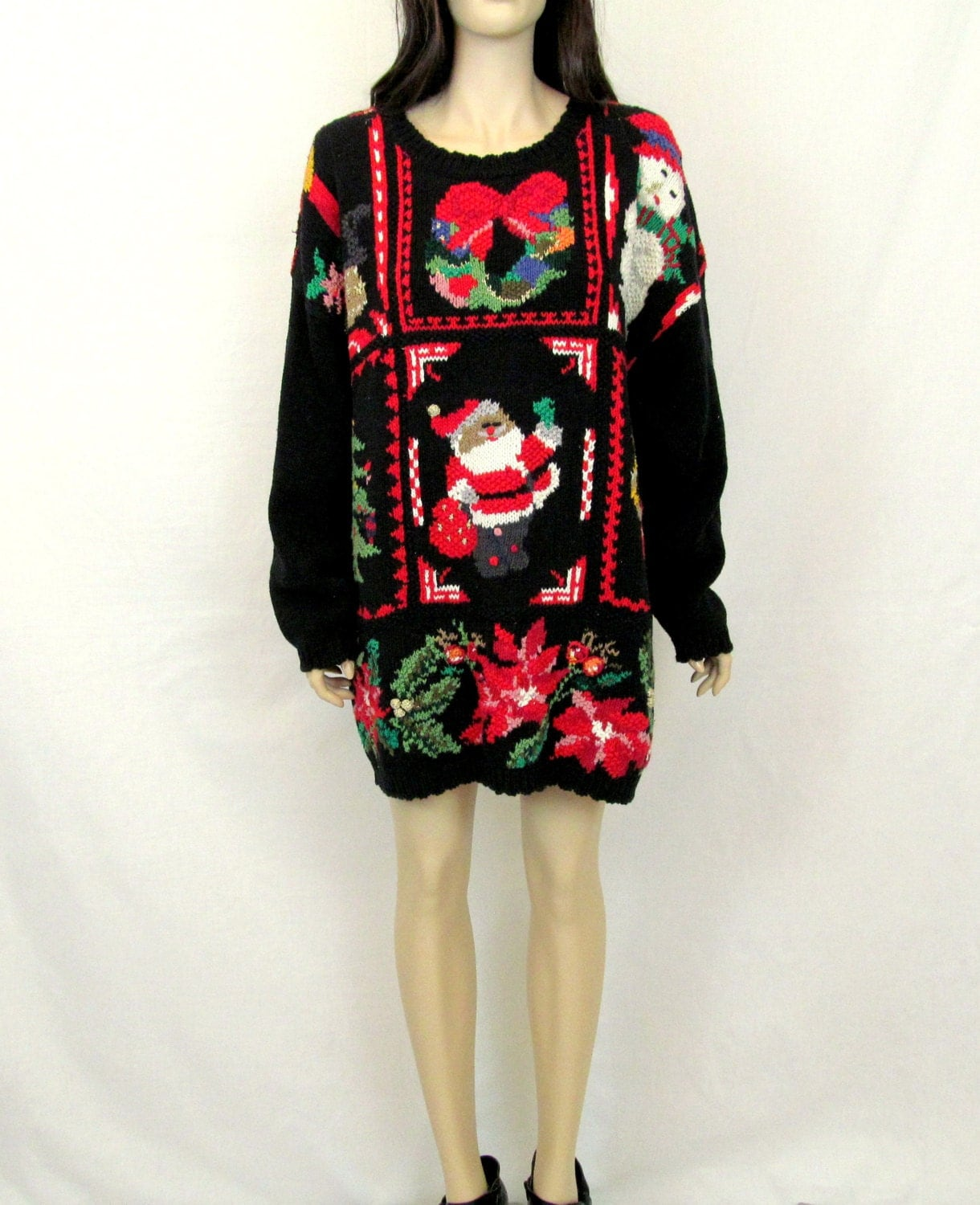 Christmas Sweater Ugly Christmas Sweater Hipster Christmas Sweater