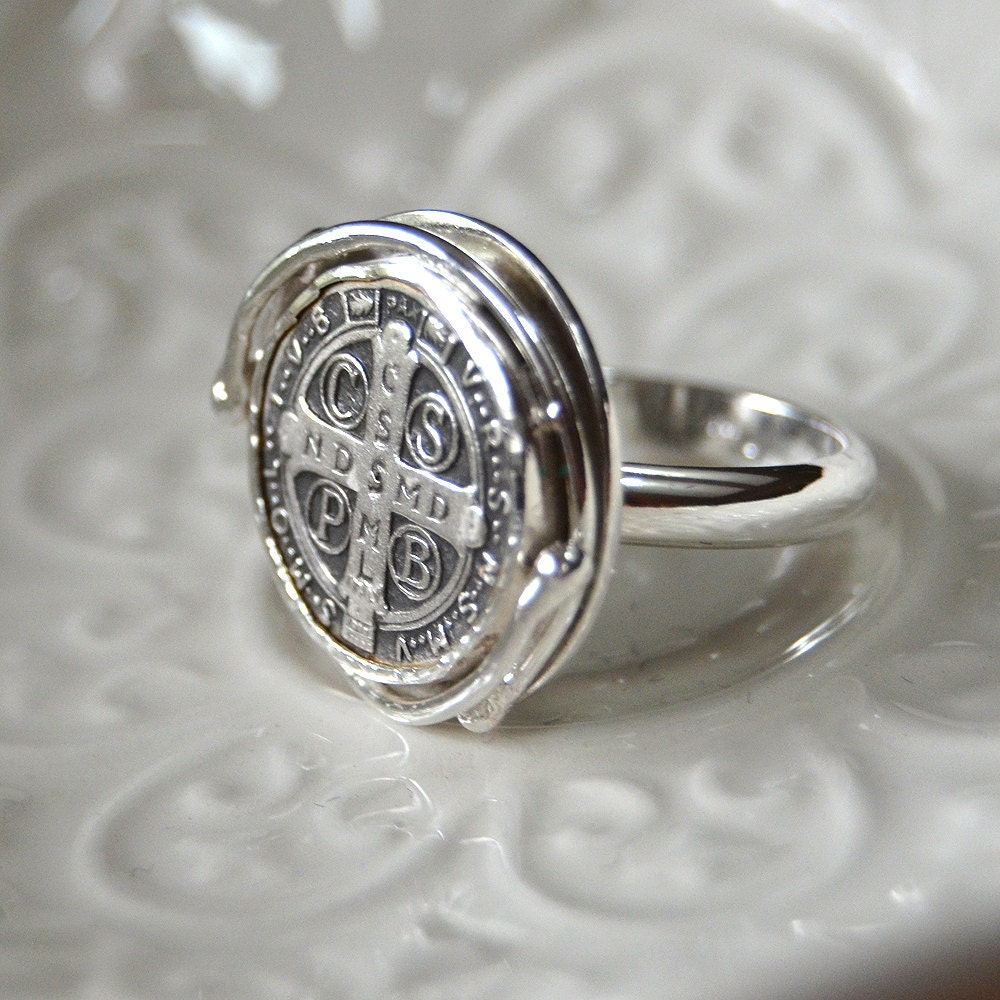 St Benedict Medal Ring
