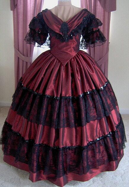 1800s Party Dresses 2