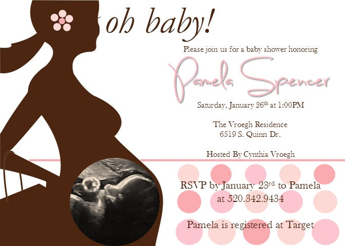 Ultrasound baby shower invitation templates free printable baby shower invitations with ultrasound picture www filmwisefo