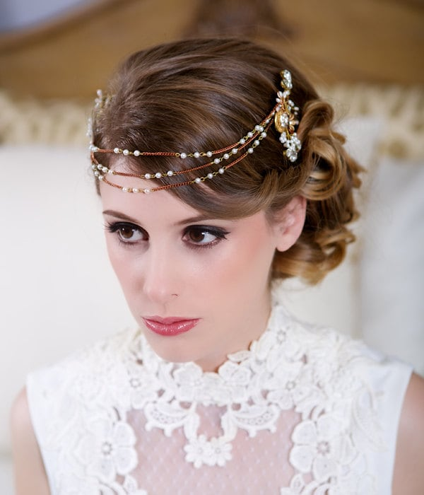 Wedding Headpieces With Forehead Jewelry: Unavailable Listing On Etsy