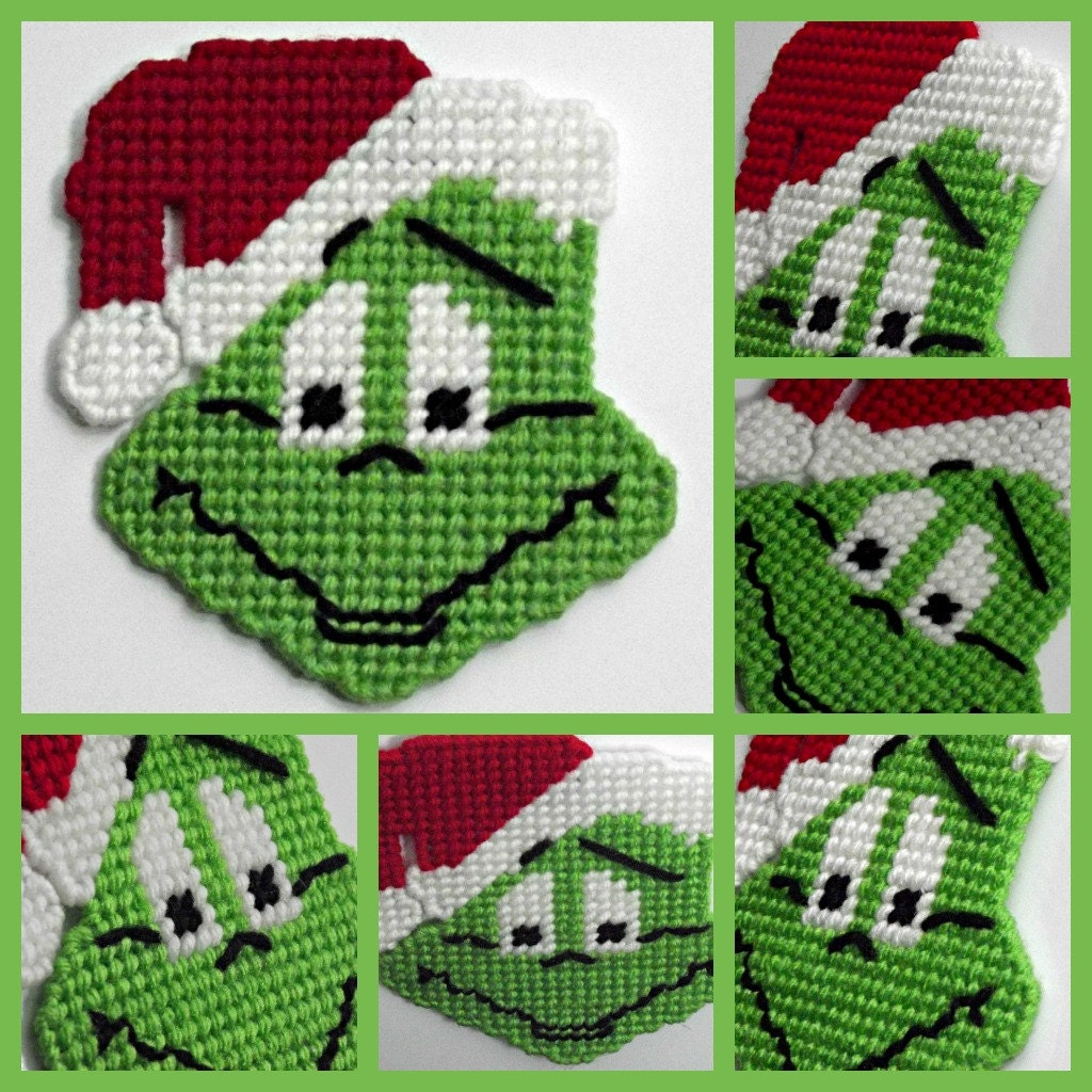 Astounding image throughout free printable plastic canvas christmas patterns