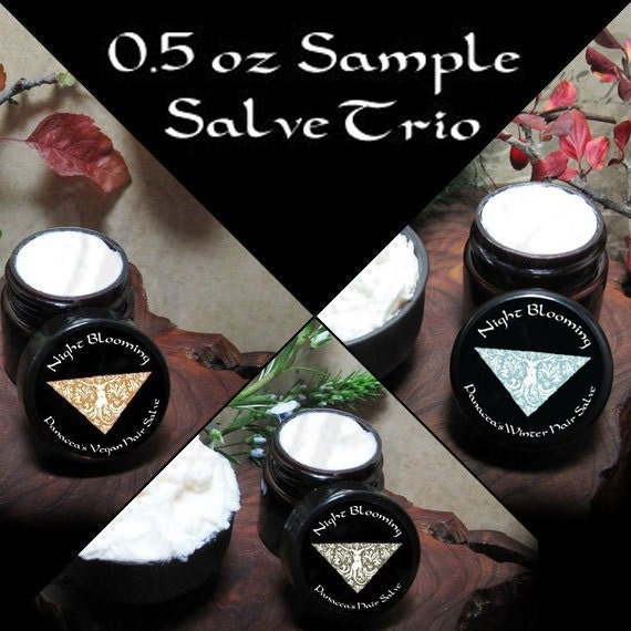 Panacea's Sample Salve Trio Pack