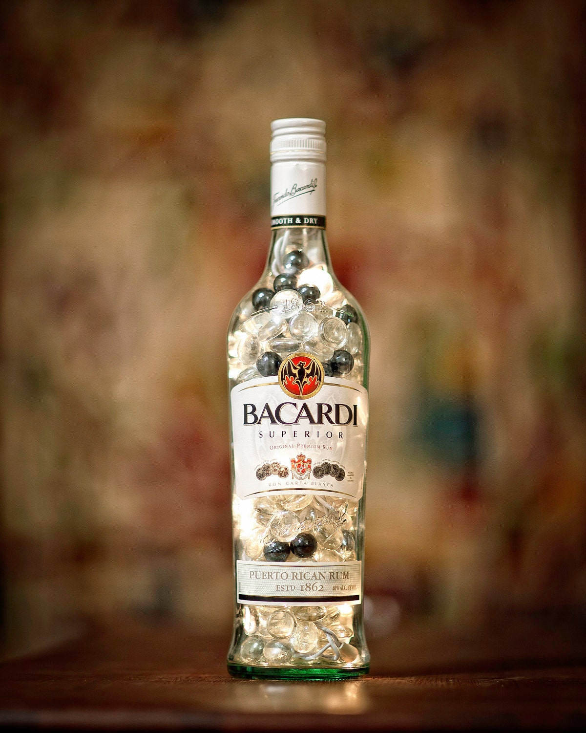 Bacardi Lamp - LibationLight