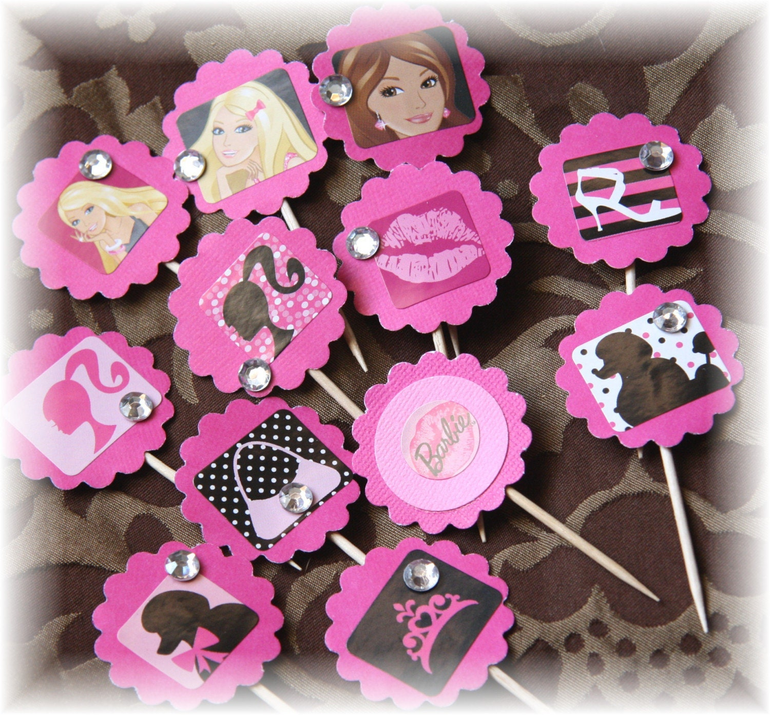 Barbie Doll Cupcake Topper Picks By Cupcakesdragonflies On