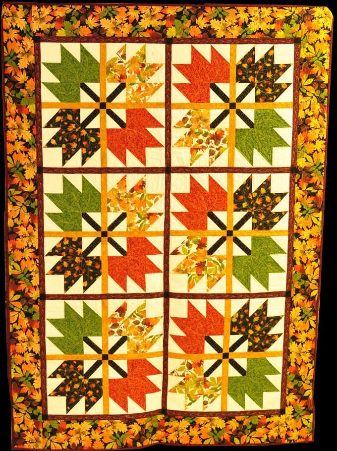 Autumn/Fall Colors Quilt - Coudsdonc