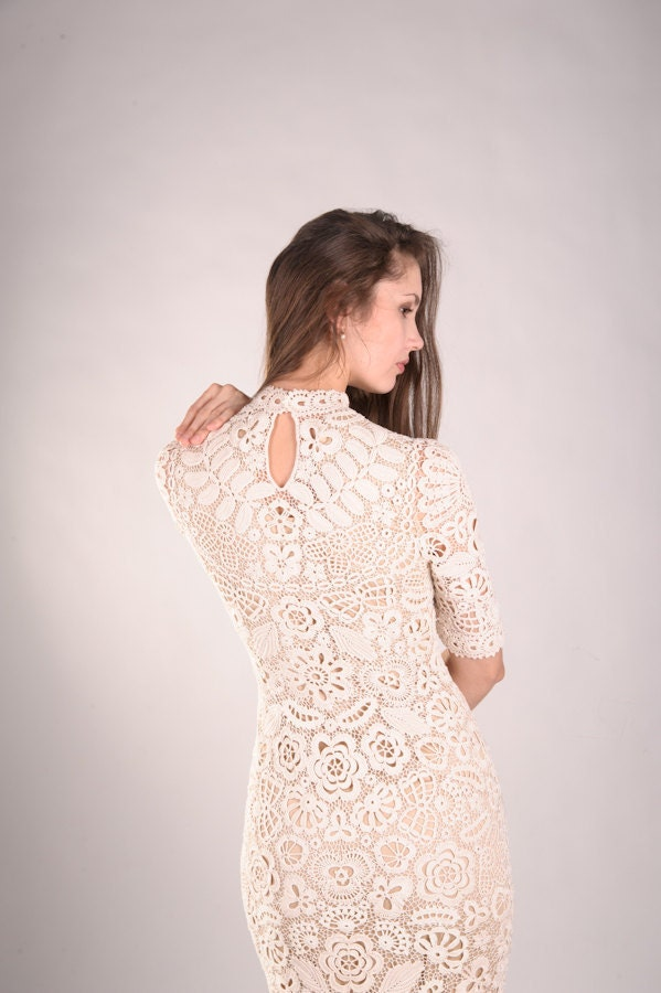 Exquistie Crocheted Wedding Dresses