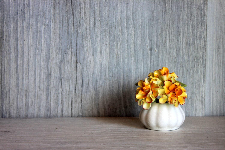 miniature porcelain flowers // english bone china // raybur staffordshire england // miniature bouquet - umbrellafant