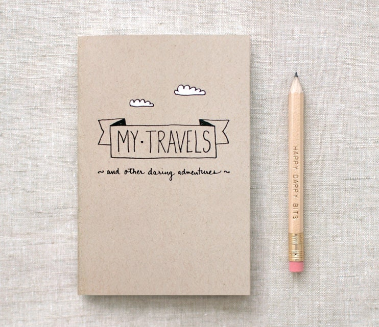 Travel Journal by Happy Dappy Bits