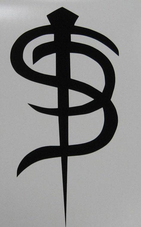 Skinny Puppy Logo Decal Sticker Industrial Goth By