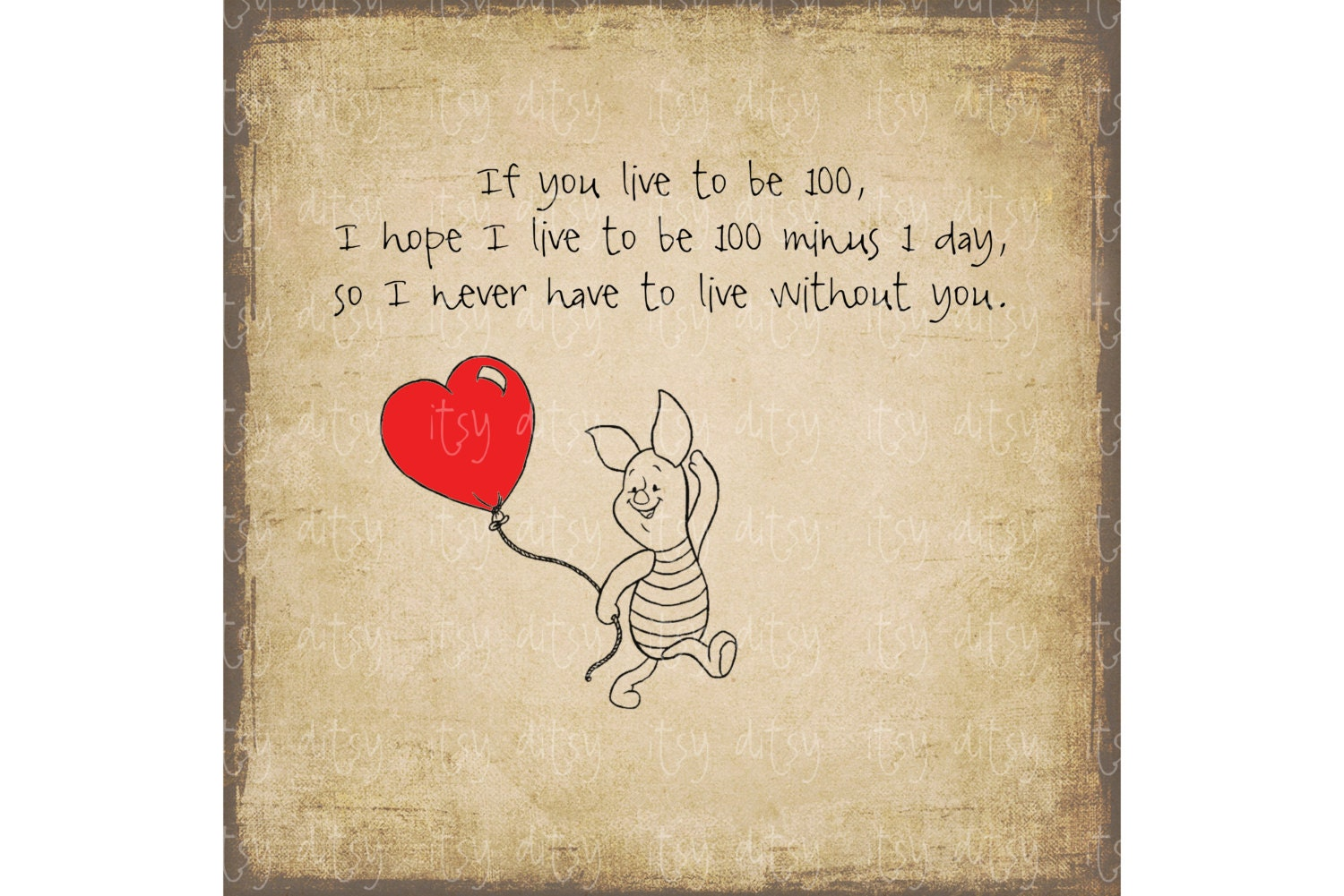 Pooh Love Quotes Piglet Winnie The Pooh Quotes