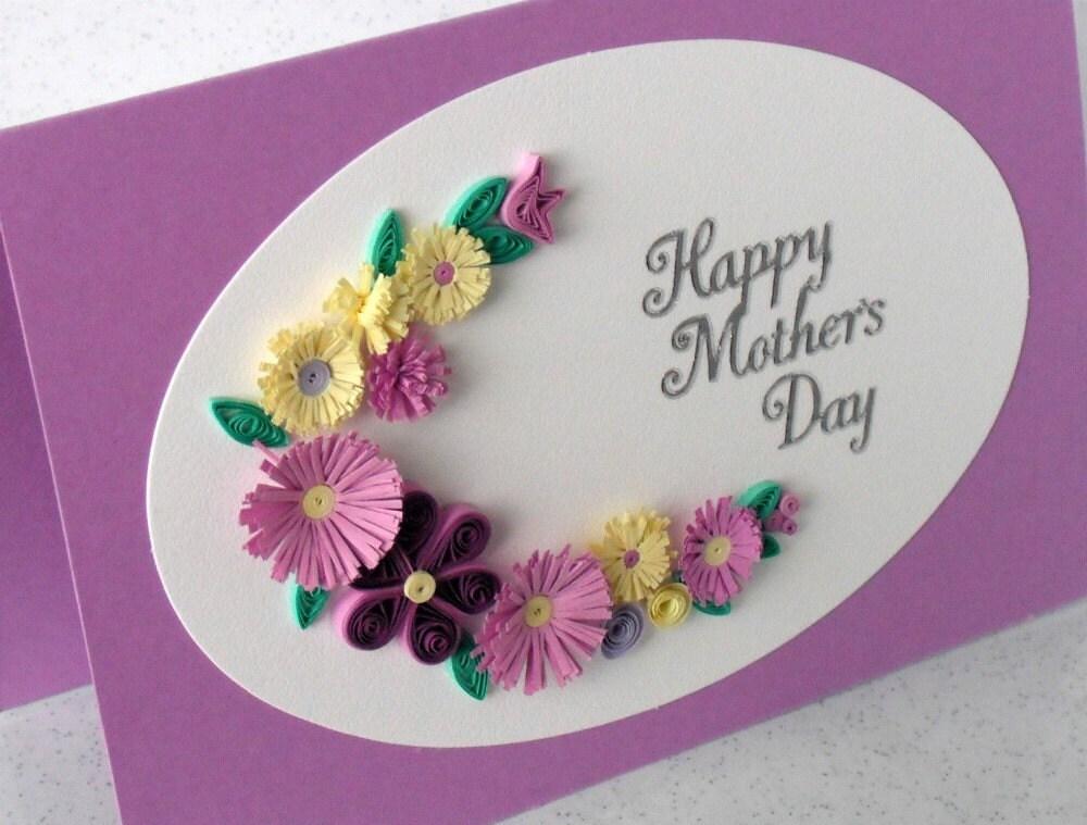 Идея открытки на день матери