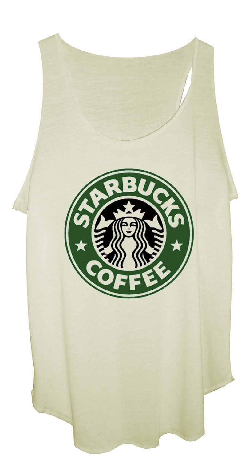 Starbucks Coffee Ladies Designer Soft Tank Top, Vest