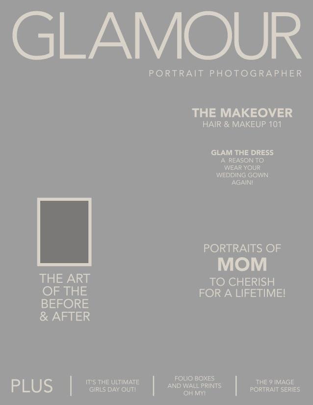 photoshop magazine front cover template by designbyshaunalofy