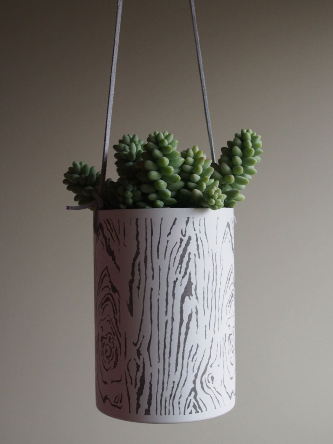Unavailable listing on etsy - Metal hanging planter ...