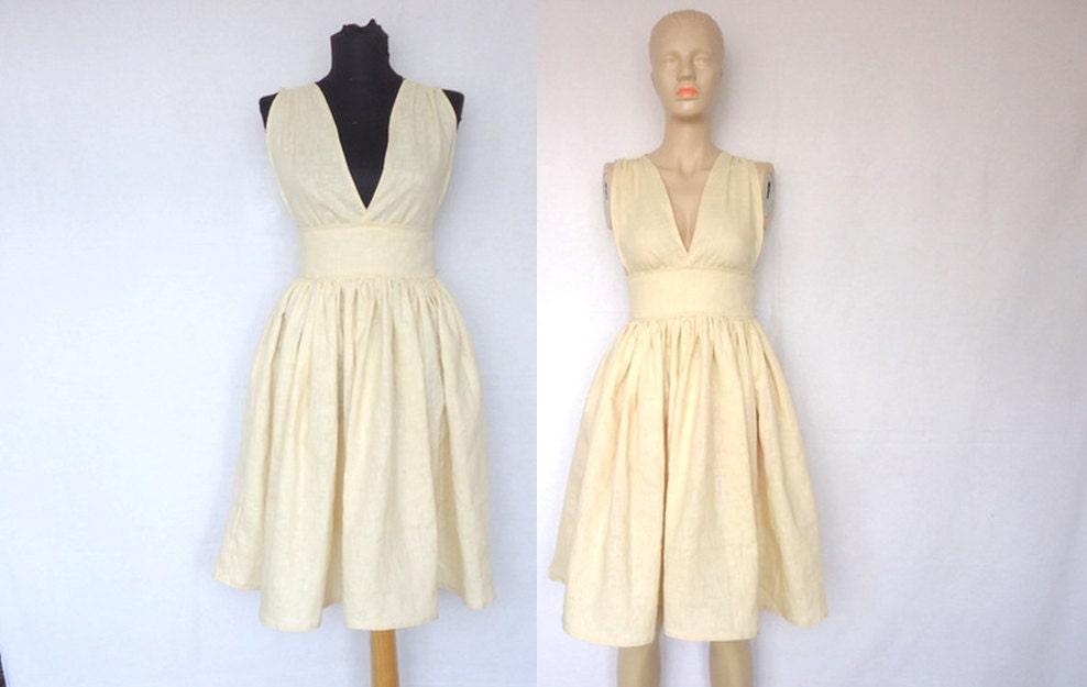 Wedding Dress Linen Dress Womens Dresses Special Different Sundress