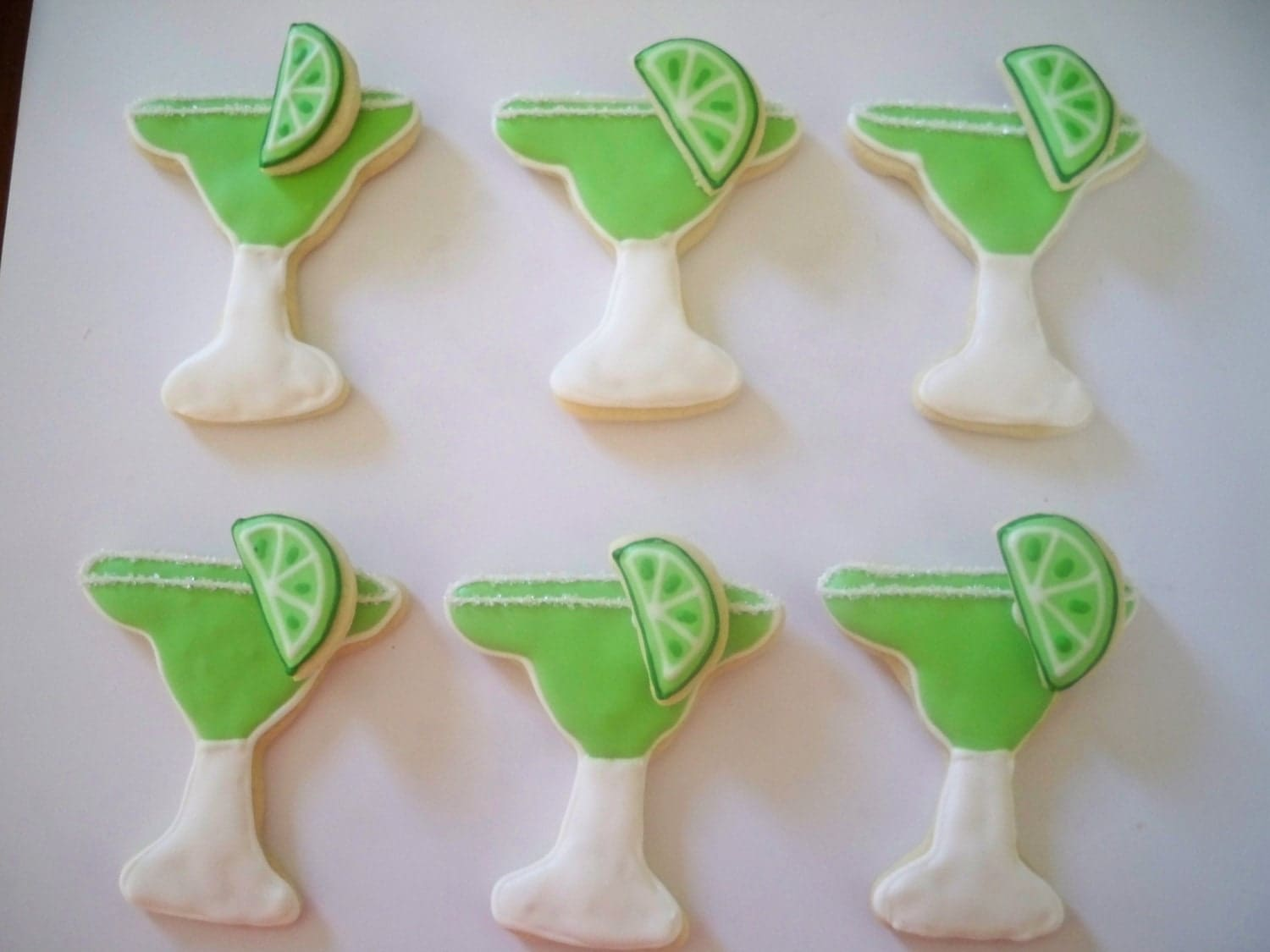 Margarita Sugar Cookies by Just4YouTreats on Etsy