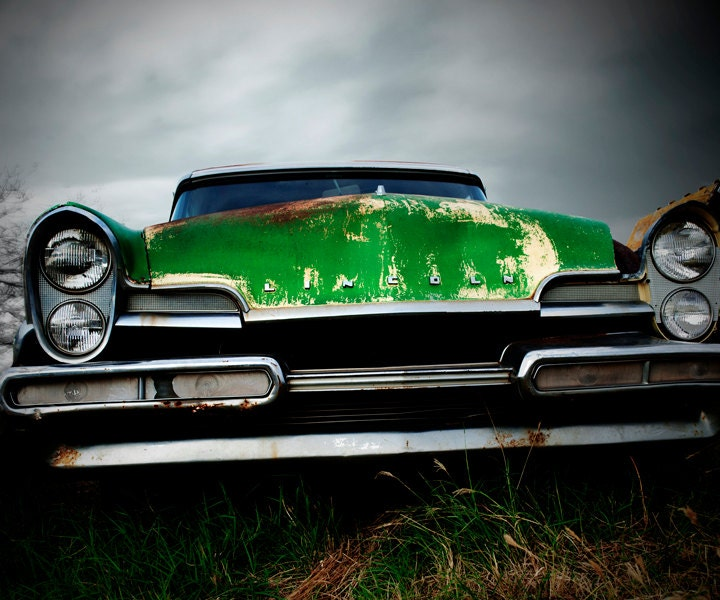 8x10 Photograph of Vintage Car - Lincoln - PeanutPhoto