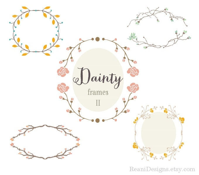 ... Frames Design Clipart for personal and commercial use - Clip art by