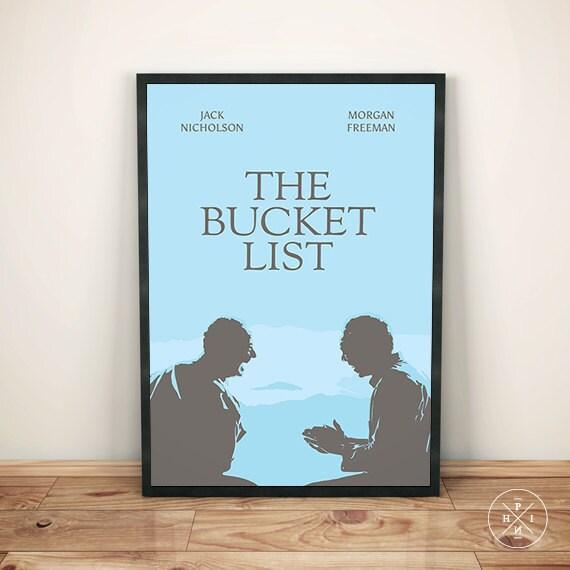 Bucket list movie poster