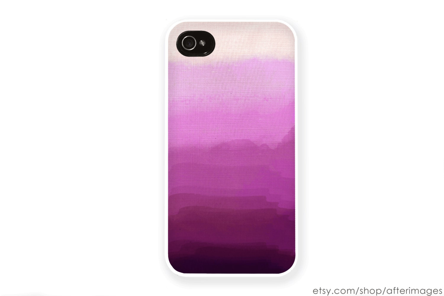 Radiant Orchid iPhone Case / Lavender Ombre iPhone 4 Case iPhone 5S Case Radiant Orchid Ombre iPhone 5 Case iPhone 4S Case iPhone 5C Case - afterimages