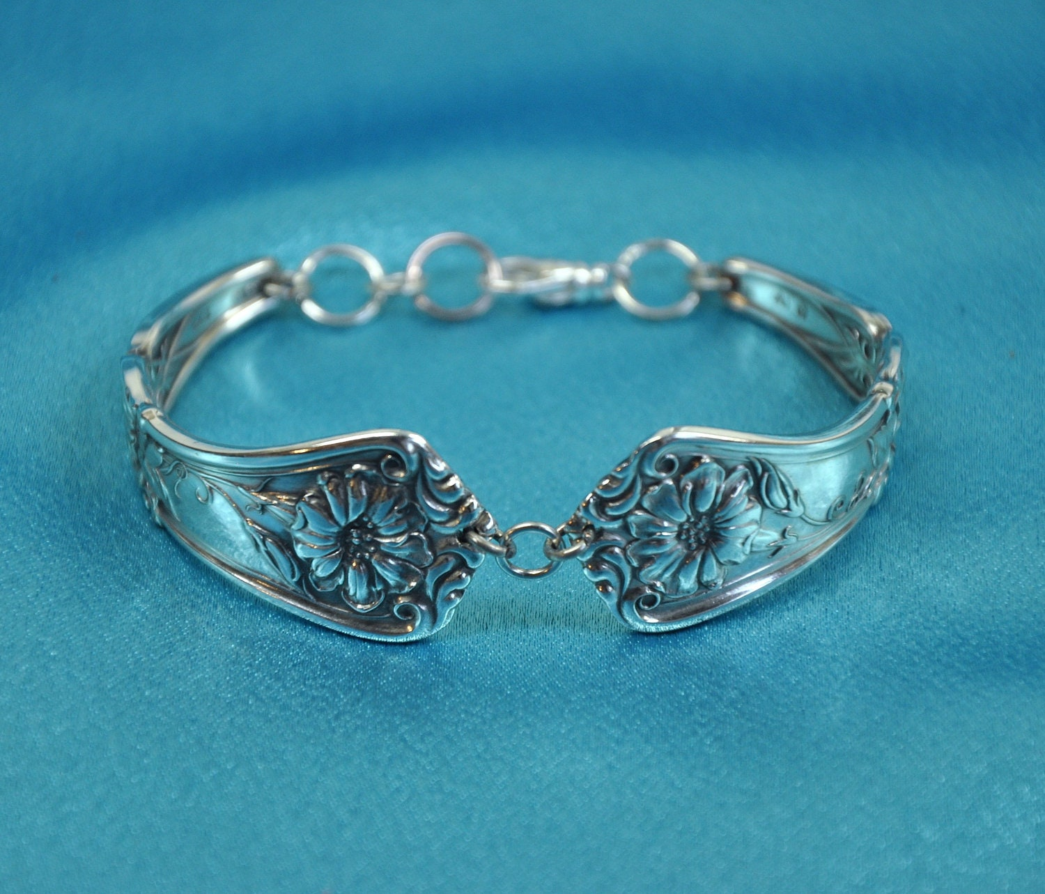 "Spoon Bracelet  ""Gloria"" aka ""Grenoble"" 1906  by  Wm. A. Rogers"