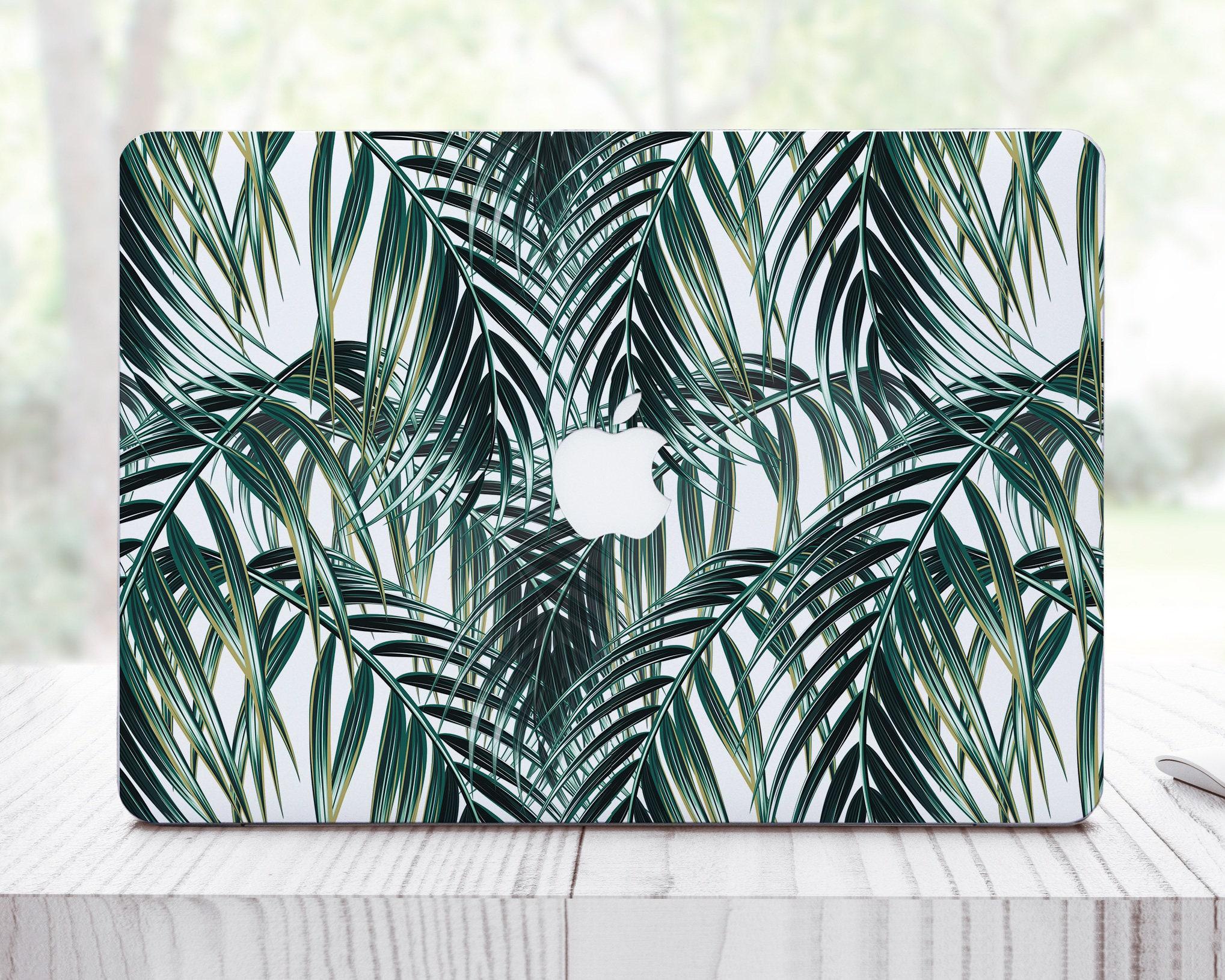 Tropical Leaves Mac Pro 15 Sticker MacBook Air Skin For MacBook Air 13 inch Skin Pink MacBook Pro Retina Sticker Mac Pro Cover ES0115