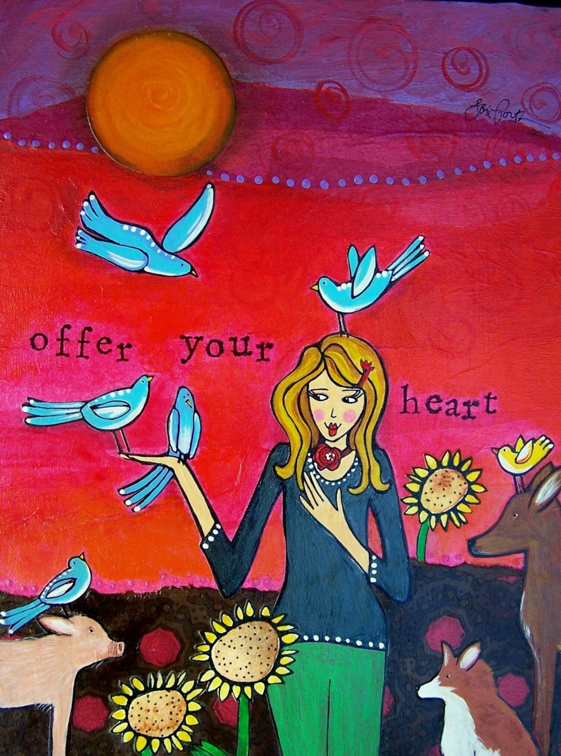 Print : Offer Your Heart