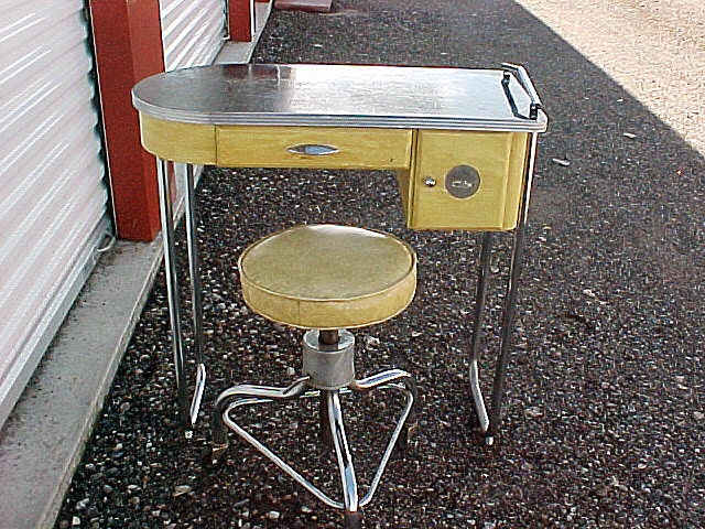 Items similar to vintage 1930s art deco manicure table for Long manicure table