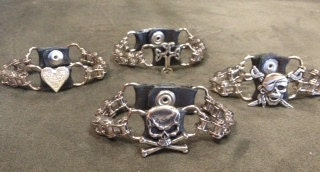 Biker chain convertible bracelets